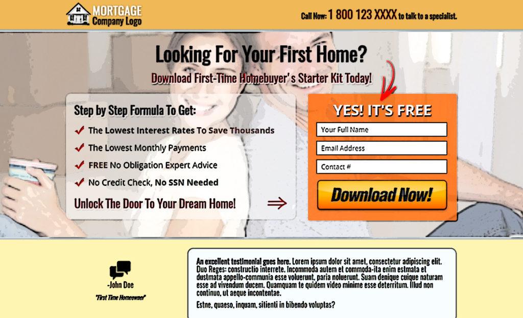 Mortgage Landing Page
