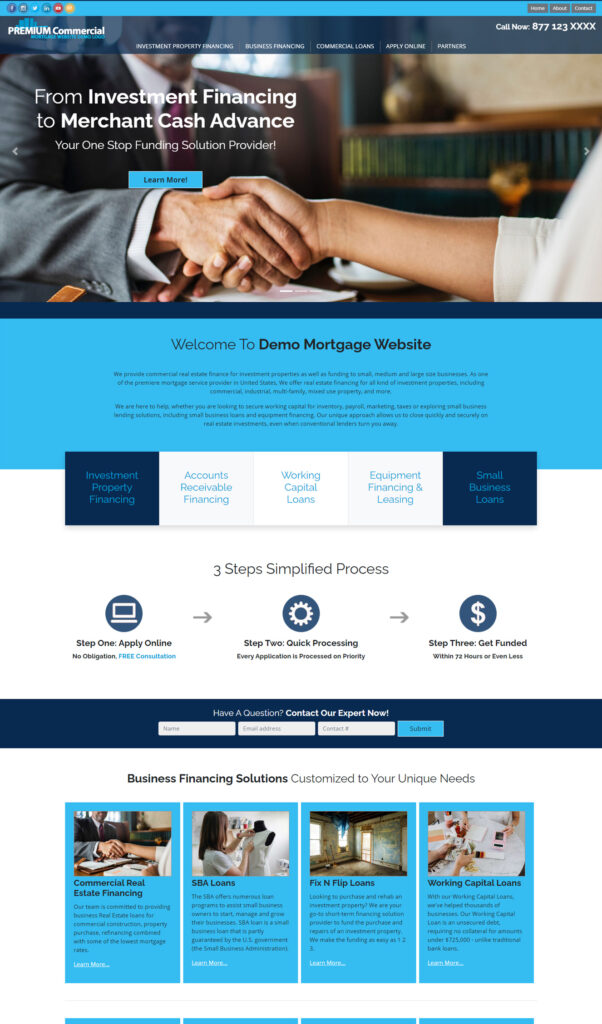 COM970 Website Template