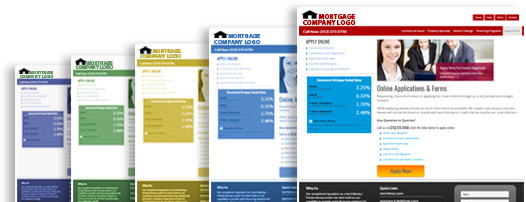 Default mortgage web pages