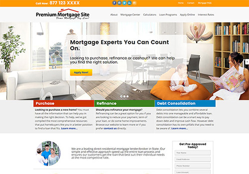 Residential Mortgage Template