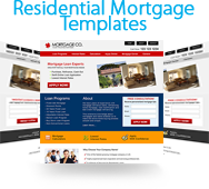 Residential Website Templates For Loan Officers  Mortgage Templates