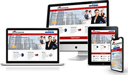 Responsive Commercial Site Design Image