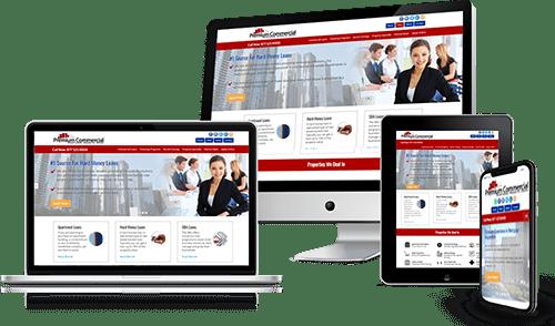 Responsive Commercial Website Design