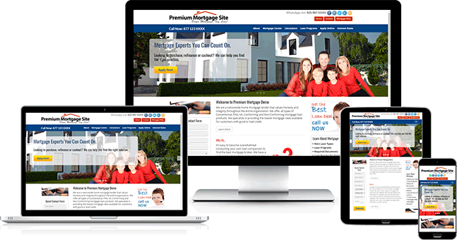 Responsive Mortgage Websites