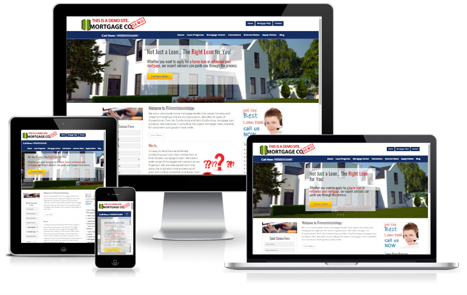 Responsive Residential Website Design