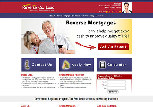 Reverse Mortgage Template