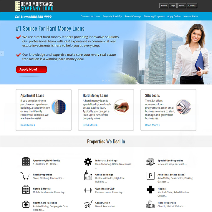 Commercial Mortgage Template